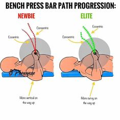 DID YOU KNOW⁉️ Drive the bar back toward your face as you press the bar off . by Fitness Gym Tips, Gym Workout Tips, At Home Workouts, Chest Workout Women, Chest Workouts, Tips Fitness, Muscle Fitness, Gym Fitness, Fat Burning Cardio