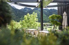 Sonnenterrasse im Jungbrunn Kulinarium   #Jungbrunn #Sommer #Tannheimertal #Tirol Spa, Table Decorations, Lifestyle, Home Decor, Good Times, Places, Guys, Vacation, Summer
