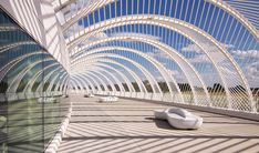 Florida Polytechnic University stands between Tampa and Orlando, a half-way marker amidst a hundred miles of farmland along Interstate 4. Description from thecoolist.com. I searched for this on bing.com/images