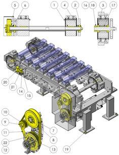 Electronic Engineering, Mechanical Engineering, Civil Engineering, Mechanical Design, Mechanical Gears, Autocad Isometric Drawing, Conveyor System, Electronics Basics, Factory Design