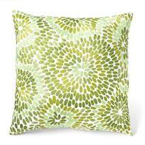 bloom pillow green