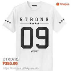 Shipping fee 50php =) Strong, Instagram Posts, Projects, Shirts, Color, Facebook, Collection, Fashion, Log Projects