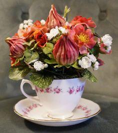 Royal Rosehip Tea Premium Silk Floral by BrandyByDesignLtd, $29.99