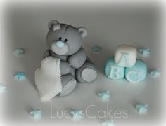 Me to you bear tatty teddy cake topper by www.lucys-cakes.com, via Flickr