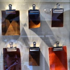 window display swatches @NiemanMarcus