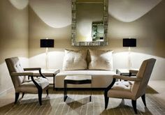 Living room by Donghia
