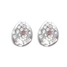 Kendall Earrings Silver-Colored  by Hovey Lee
