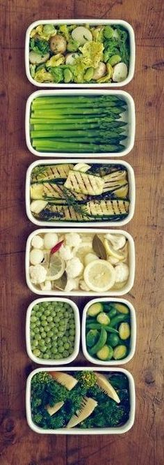VEGETABLE BUFFET [plating idea, image only]