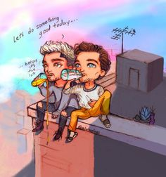 Image shared by black. Find images and videos about cute, funny and one direction on We Heart It - the app to get lost in what you love. One Direction Fan Art, One Direction Cartoons, One Direction Drawings, Zayn Malik Drawing, Icarus Fell, Larry Stylinson, 1d And 5sos, Harry Edward Styles, Louis Tomlinson