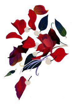 Izutsu - flower on Behance