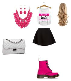 """Samantha"" by alexaw-2 on Polyvore featuring Neil Barrett, Dr. Martens and Bense Bags"