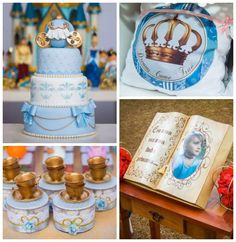 Princess Cinderella themed birthday party