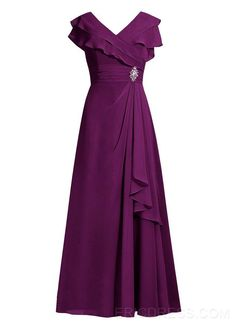 Ericdress Elegant V Neck A Line Mother of the Bride Dress Mother of the Bride Dresses 2015- ericdress.com 11529747