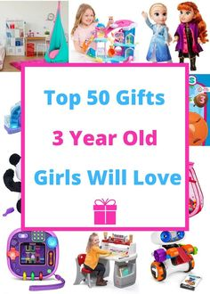 Gifts for Girls Age Popular gift ideas for 3 yr old girls. Top presents for a girl on her third birthday or Christmas! 3 Year Old Christmas Gifts, Gifts For 3 Year Old Girls, Christmas Presents For Girls, Birthday Presents For Girls, Best Gifts For Girls, Little Girl Gifts, Christmas 2019, Christmas Ideas, 3 Year Old Birthday Gift
