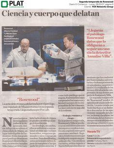 FOX Networks Group: Segunda temporada de Rosewood en el suplemento del diario El Comercio de Perú (28/03/17)