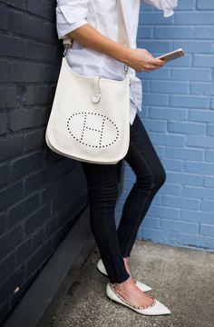 designer handbags at john lewis New Handbags, Hermes Handbags, Handbags Michael Kors, Hermes Evelyn Bag, Hermes Bags, Valentino Flats, Classy Summer Outfits, Discount Designer Handbags, Flats Outfit