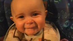 VIDEO: Emotiva reacción de bebé al canto de su madre