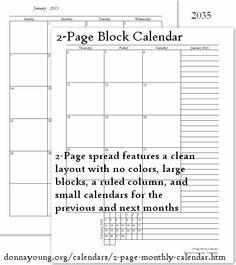 17 best 2015 calendars 2 page images on pinterest 2015 calendar