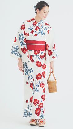 Japanese Yukata, Japanese Geisha, Japanese Outfits, Modern Kimono, Yukata Kimono, Kimono Design, Hanfu, Yamamoto, Style Inspiration