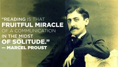 On reading: | 14 Simply Thought-Provoking Quotes From Marcel Proust