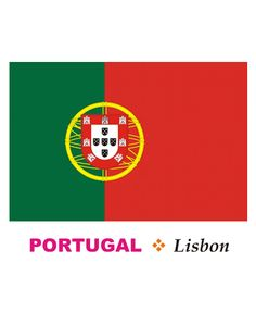 Portugal Flag Coloring Pages