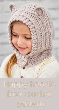 Exceptional Stitches Make a Crochet Hat Ideas. Extraordinary Stitches Make a Crochet Hat Ideas. Crochet Kids Hats, Crochet Cap, Crochet Crafts, Crochet Stitches, Crochet Projects, Free Crochet, Crochet Patterns, Crochet Children, Crotchet