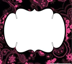 Dark pink #freelabel #labeldesign #eveiolabel #owndesign #girlylabel #vintagelabel #cutelabel #blackandpink #cutelabel