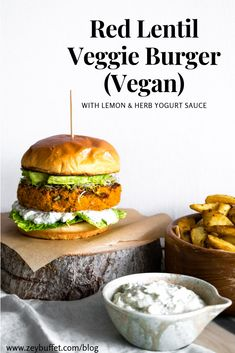 This is a healthy, filling, flavourful, rich and gourmet veggie burger recipe that will satisfy all your burger cravings and make a perfect plant-based option for your summer grill parties or barbecues. Vegan Lunch Recipes, Vegan Lunches, Burger Recipes, Vegan Dinners, Healthy Recipes, Vegetarian Meal, Savoury Recipes, Vegan Food, Healthy Food