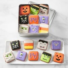 Fall Cookies, Mini Cookies, Iced Cookies, Cut Out Cookies, Royal Icing Cookies, Cookies Et Biscuits, Gourmet Cookies, Cookie Frosting, Gourmet Foods