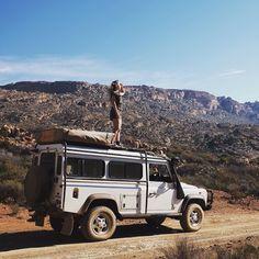 #defender110 #adventure with @kristinacapetown #theadventurehandbook #landroverdefender by timochaplin #defender110 #adventure with @kristinacapetown #theadventurehandbook #landroverdefender