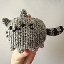 Pusheen Knitting Pattern : 1000+ images about Crochet--Cats on Pinterest Amigurumi ...