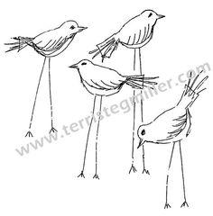Thermofax Screen - The Birds