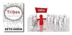 """Uma tribo é qualquer grupo de pessoas – grande ou pequeno – conectados um ao outro em torno de uma idéia e um líder. É da natureza humana se reunir em tribos, seja religiosa, políticas, econômica, esportiva e de música. No livro """"Tribes"""", Seth Godin mostra com grande propriedade que a internet quebrou todas as barreiras geográficas, de tempo e de custo. Com os blogs e as redes sociais uma pessoa com uma boa idéia e espírito de liderança pode reunir rapidamente milhares de seguidores."""