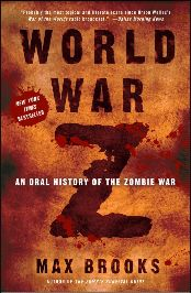 World War Z ..... Guys will LOVE this book... and I loved it too. Max Brooks is an awesome author.