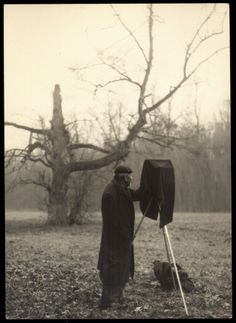 Portrait of Josef Sudek, possibly by Zdenek Kirschner, dated March 1959
