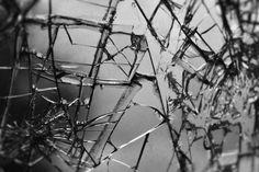 Smashed glass - Auburn, New York