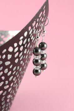Perlenohrringe - Ohrschmuck Patrizia - Braut - ein Designerstück von greta_mar bei DaWanda