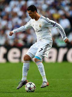 Cristiano Ronaldo durante Real Madrid vs Atlético de Madrid, no Estádio da Luz, em Lisboa 24.05.2014
