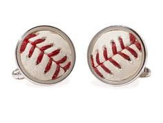 Philadelphia Phillies World Series Game Used Baseball Cuff Links Phillies World Series, Boston Red Sox Game, New York Yankees Game, 2011 World Series, Twins Game, Dodger Game, Cardinals Game