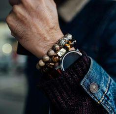Classy Menswear — Get some amazing luxury bracelets here:...
