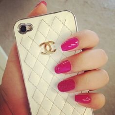 beautiful, cases, chanel, iphone, nails