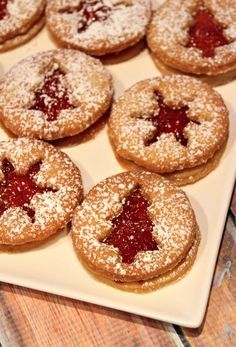 Jelly Twinkles: my favorite Christmas cookies from childhood #recipe