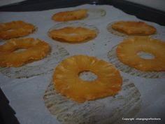 Finding Joy in My Kitchen: Dried Fruit in the oven