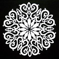 snowflake Scroll Saw Patterns | The Quilt Rat: Galleries 747x747 jpeg
