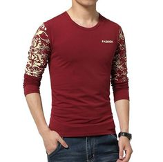 Shirt with long sleeves, many colors