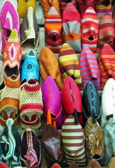 Babouches | Marrakech | Marokkaanse sloffen | Morrocan slippers