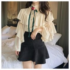 Moda Lolita, Lolita Mode, Girly Outfits, Pretty Outfits, Fashion Outfits, Style Casual, Casual Art, Smart Casual, Comfy Casual