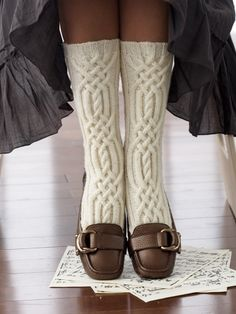 Cable Detail Socks | Yarn | Free Knitting Patterns | Crochet Patterns | Yarnspirations