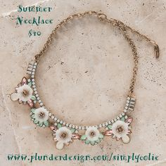 Plunder Design offers chic, stylish jewelry for the everyday woman. We offer a wide variety of pieces at affordable prices. Plunder Jewelry, Plunder Design, Summer Necklace, Pastel, Stylish Jewelry, Spring, Vintage Jewelry, Beaded Necklace, Bracelets