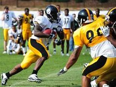 Baron Batch, Texas Tech alum playing for the Pittsburgh Steelers.